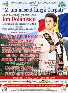 Afiș Festivalul Național Ion Dolănescu